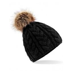 Beechfield B410 Faux Fur...